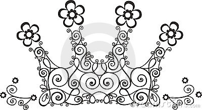 Vine Crown Illustration