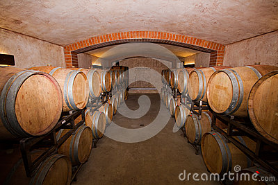 Vineyard cellar
