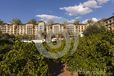 The Vineyard at Green Valley Ranch Resort and Spa in Las Vegas, Editorial Stock Photo