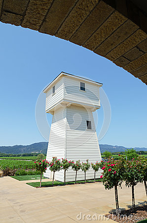 Vineyard water tower