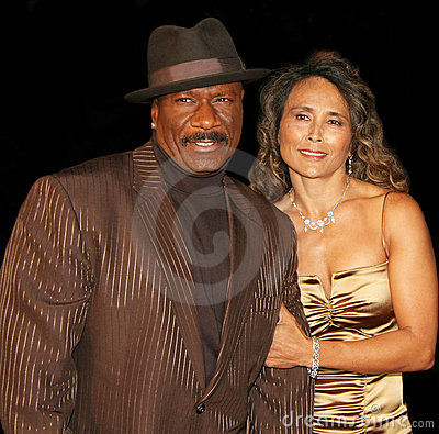 Ving Rhames and Deborah Reed Editorial Photography