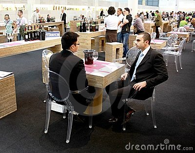 Vinitaly 2010 Editorial Stock Image