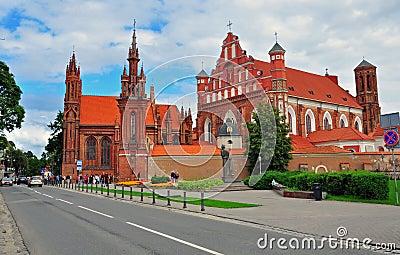 Vinlius gothic church