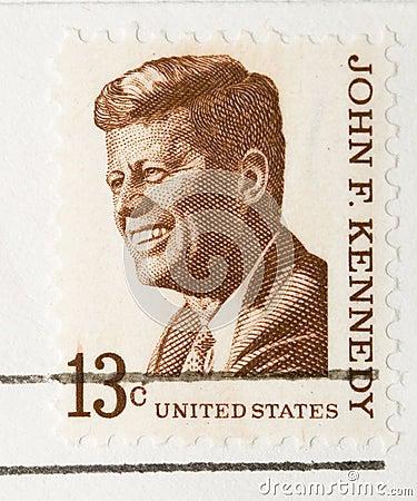 Vintage 1967  Stamp John F Kennedy