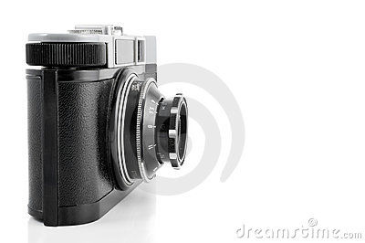 Vintage 35 mm camera