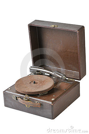 Vintage 45 Record Player