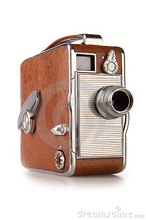 Free Vintage 8mm Film Camera Stock Photo - 3965550