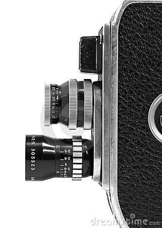 Free Vintage 8mm Movie Camera Stock Images - 2800284
