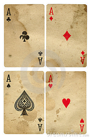 Vintage aces