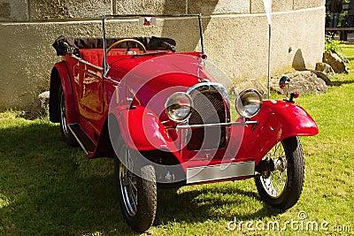 Vintage Aero sports car