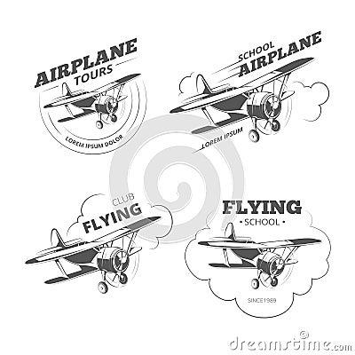 vintage airline logos eBay