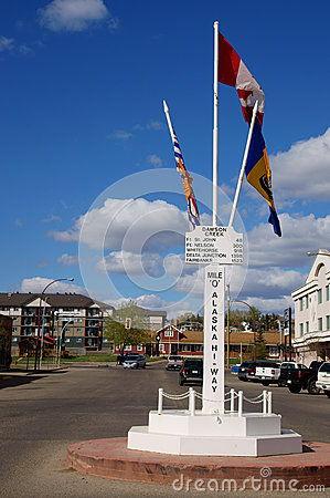 Vintage Alaska Highway Sign