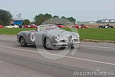 Vintage Alfa Romeo Editorial Image
