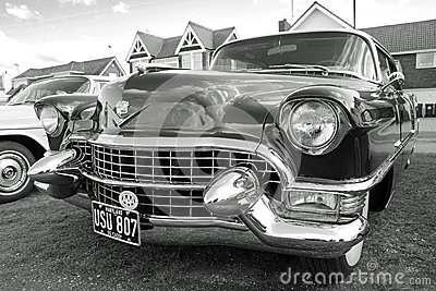vintage american cadillac car Editorial Stock Photo