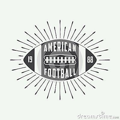 Vintage American Football 88