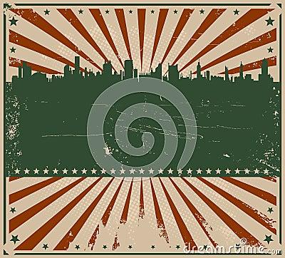 Vintage American Poster