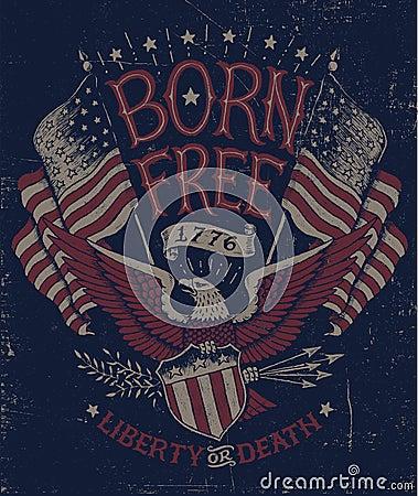 Vintage Americana Eagle Graphic Vintage Americana Eagle Graphic Vintage Americana Graphics