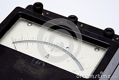 Vintage ampere-meter