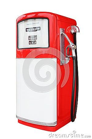 Vintage antique Gasoline fuel pump