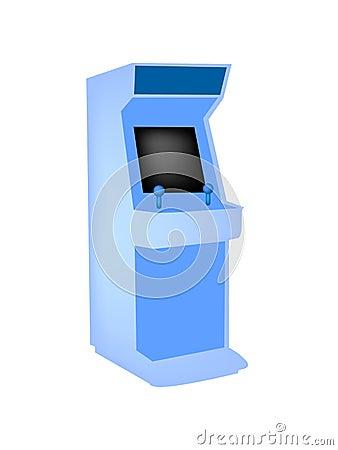 Vintage arcade game system