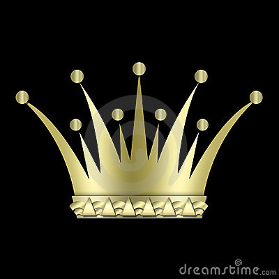 Vintage art deco Crown
