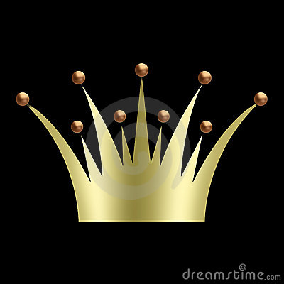 Vintage art deco Crown