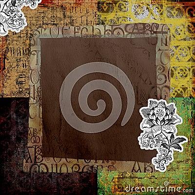 Free Vintage Art Paper Background Stock Photos - 3645033