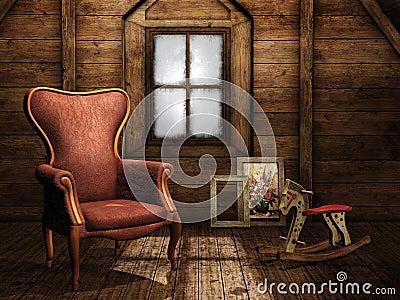 Vintage attic