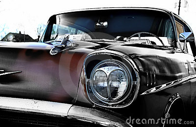 Vintage Auto Royalty Free Stock Photo - Image: 109055