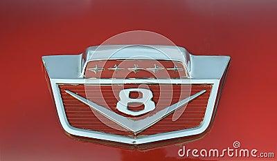 Vintage auto hood ornament