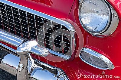 Vintage automobile details