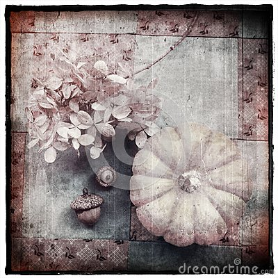 Vintage Autumn Still Life