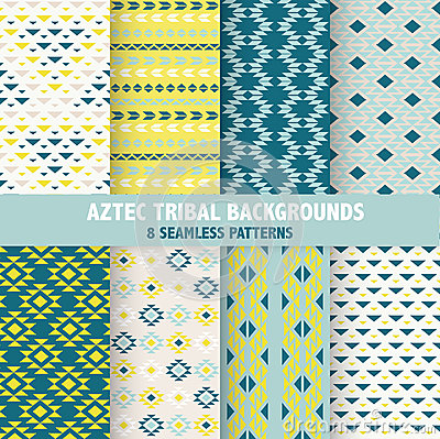 Free Vintage Aztec Tribal Backgrounds Royalty Free Stock Photography - 51448357