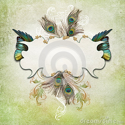 Free Vintage Background With Butterfly Royalty Free Stock Image - 39502386