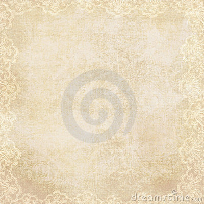 Free Vintage Background With Lacy Border Stock Photo - 15042280