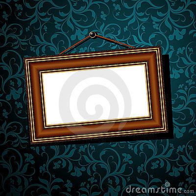 Vintage baguette frame
