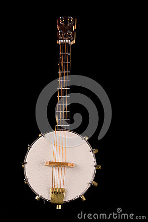 Free Vintage Banjo Selective Focus On Strings. Royalty Free Stock Photo - 30953925