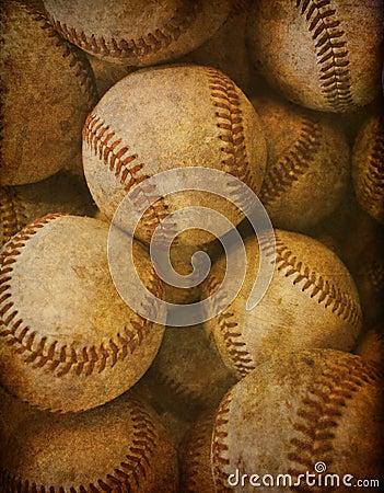 Free Vintage Baseball Background Royalty Free Stock Images - 16344339