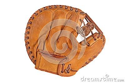 Vintage Baseball Catcher s Mitt