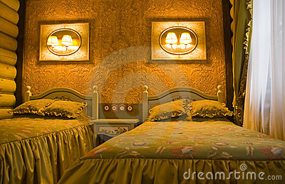 Vintage bedroom