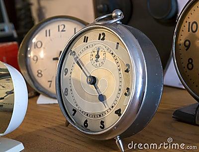 Vintage Bedroom clocks