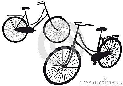 Vintage bicycle,