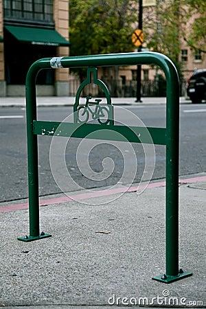 Vintage Bike Rack in Old Folsom CA