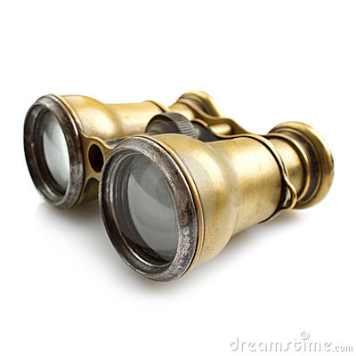 Vintage binocular