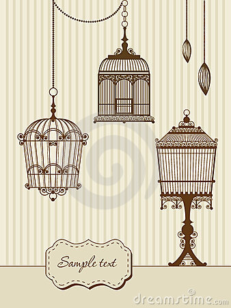 vintage bird cages royalty free stock photography image clipart of a rose and music notes clipart of a rose to color