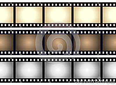 Vintage Blank Film Strip Frame