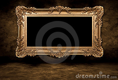 Vintage Blank Picture Frame