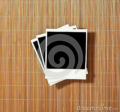 Vintage Blank Polaroid Frames