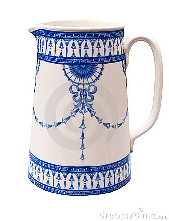 Vintage Blue Pitcher