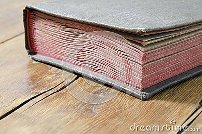 Vintage book fragment